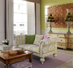 Kit Kemp - A Living Space. Interiors should be relaxing, comfortable, social, enjoyable and full of lovely surprises.