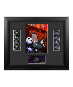 Loving this Nightmare Before Christmas Jack & Mayor Framed FilmCel Wall Art on #zulily! #zulilyfinds