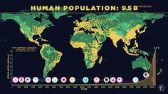 Une carte animée du développement de la population humaine à travers le temps (Vidéo)
