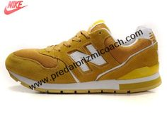 Buy Discount New Balance NB W595BW White Yellow Brown For Women shoes Shoes Shop