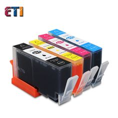 4pk kompatibel für hp655xl tinte für deskjet hp 3525 4615 4625 5525 6520 6525 tintenpatrone für hp 655xl (bk + c + m + y)