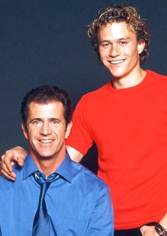 Heath Ledger and Mel Gibson -- The Patriot