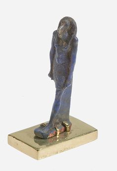 Thoth amulet Period: Late Period Dynasty: Dynasty 26–30 Date: 664–332 B.C. Geography: From Egypt Medium: Lapis lazuli