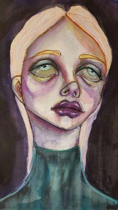 FOLLOW MY IG FOR MORE ! Arte Van Gogh, Arte Indie, Arte Obscura, Arte Sketchbook, Funky Art, Hippie Art, Weird Art, Art Abstrait, Psychedelic Art