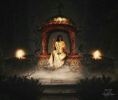 Indian Goddess Kali, Durga Goddess, Indian Gods, Durga Maa, Shiva Shakti, Lord Shiva Hd Images, Hindu Dharma, Divine Mother, Air Brush Painting