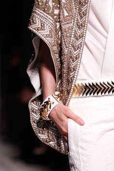 Balmain 2012 #jacket #balmain #womensfashion #style #fashion #look #blazer #details #luxury #luxe #highend #trend #dress #details