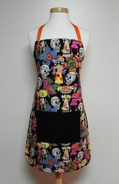 Los Novios Apron with Pocket by FancyThatApronsMore on Etsy, $24.95 #pcfteam