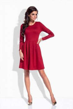 The best online fashion store, carrying over 500 global stylish branded across menswear, womenswear, and accessories. Day Dresses, Dresses For Work, Best Online Fashion Stores, Maroon Dress, Italian Fashion, Fashion Addict, Dress Up, Women Wear, Street Style
