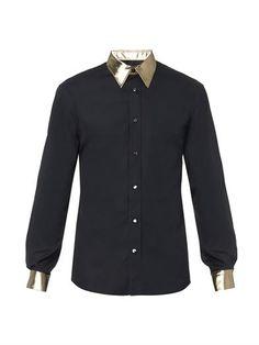 Evening shirt | Alexander McQueen | MATCHESFASHION.COM