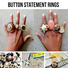 #DIY #fashion #rings #style #glamour