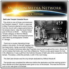 MormonMediaNetwork.com -- Salt Lake Temple Celestial Room