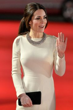 "The Duchess of Cambridge at the premiere of ""Mandela: Long Walk To Freedom"" in Leicester Square, London  #katemiddleton 12/5/13"