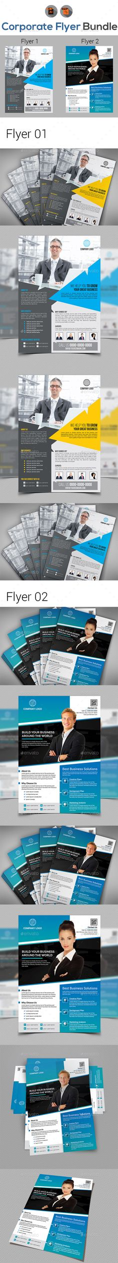 Business Flyers Bundle Templates Business Flyers, Business And   Business  Pamphlet Templates  Business Pamphlet Templates