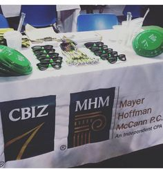 We are always visiting college campuses to find the next generation of team CBIZ! Stop on by to learn more about CBIZ and grab some swag!