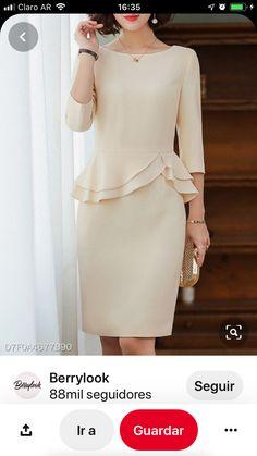 Peplum Dress, Dresses, Fashion, Cute Blouses, Sweet, Suits, Style, Vestidos, Moda