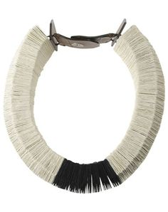 Marni Women - Jewelry - Necklace Marni on YOOX  Paper and leather, on sale for 195.00