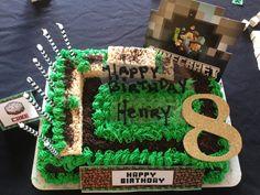 Minecraft cake #minecraftcake #minecraftparty