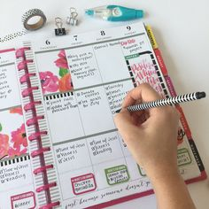 4 tips for getting more done with your Happy Planner