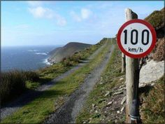 Meanwhile in Ireland, 100km/h .