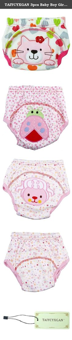 TAIYCYXGAN 3pcs Baby Boy Girl Infant Kids Toilet Potty Training Pants Cloth Under...Pink XL. ###############################################################################################################################################################################################################################################################.