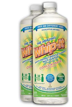 Whip-it Cleaner - Literally my most favorite cleaner EVER and GREEN/NATURAL!  $19.99