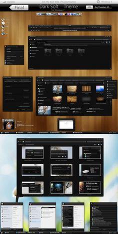 Dark Soft – big updates – Windows 7 Tema(x86/x64)