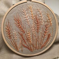 Wheat field. Monday night tv watching. - rachelwinters_sewing (@rachelwinters_sewing)
