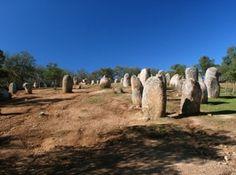 Almendres Cromlech - Evora, Portugal