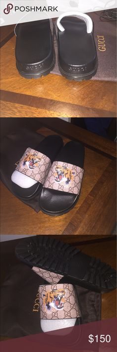 016c72528dbb Gucci slides size 42 Gucci Tiger slides very comfortable brand new Gucci  Shoes Sandals   Flip-Flops
