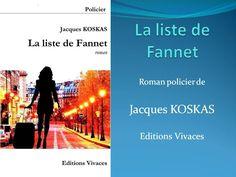 Jacques KOSKAS   La liste de Fannet   roman policier