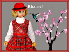 """KISS ME   -    SEE THE VIDEO OF THIS DOLL:  """"SHOW AND RARE BEAUTY"""""""