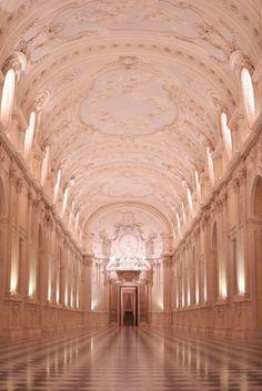 La Galleria Grande, Palace of Venaria, Torino, Italy Piemonte