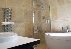 Claro Chrome Heated Towel Rail 900h X 300w | Sparkling Chrome Towel Rail