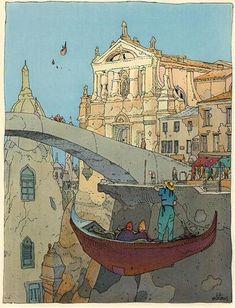 Venezia galleggiante - Moebius