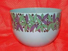 Finel Finland Enamelware Bowl Blue Purple Green | eBay Finland, Purple, Blue, Mid-century Modern, Scandinavian, Porcelain, Enamel, Mid Century, Steel