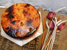 Coisas simples são a receita ...: Bolo de amêndoa com gema queimada recheado de doce...