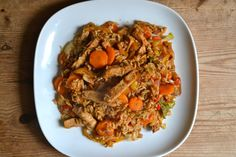 Leftover Roast Pork Stir Fry with Rice and Vegetables – The Boy Can Cook Leftover Pork Recipes, Leftover Pork Roast, Pork Recipes For Dinner, Pork Roast Recipes, Pulled Pork Recipes, Chicken Recipes, Stir Fry Rice, Pork Stir Fry, Roast Pork Rice