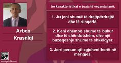 What are your three special characteristics? - MiniQuiz24