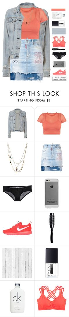 """staring back at me"" by frostedfingertips ❤ liked on Polyvore featuring rag & bone, Orelia, Dsquared2, Case-Mate, NIKE, H&M, NLXL, NARS Cosmetics, Calvin Klein and Humble Chic"