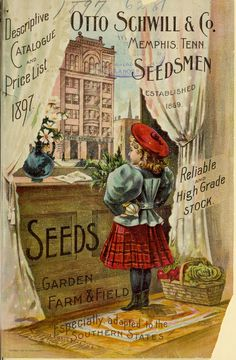 1897 Annual catalogue of Otto Schwill & Co.'s seeds