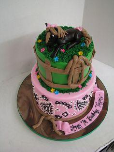 Cowgirl themed Celebration Cakes, Birthday Celebration, Birthday Cakes, Desserts, Food, Shower Cakes, Tailgate Desserts, Deserts, Essen