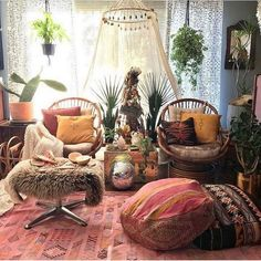 55 Most Popular Boho Style Room Decoration Options 11 - Home Sweet Bohemian Interior, Home Interior, Bohemian Decor, Interior Design, Gypsy Decor, Boho Living Room, Living Room Decor, Bedroom Decor, Bohemian Living Spaces