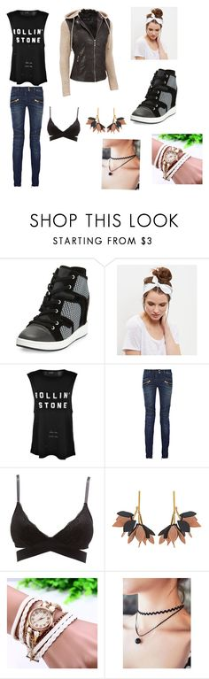 """Together"" by lolz-boyd ❤ liked on Polyvore featuring L.A.M.B., New Look, Nana', Balmain, Charlotte Russe and Marni"