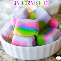 Looking for unicorn birthday party ideas? Well here is a mystical and enchanted unicorn inspired food idea... Unicorn yoghurt bites!! These are easy to make and the kids will love helping you put it all together! I have also included a printable recipe card for your convenience. These unicorn bites are the perfect way to cool off on these warm summer days. Add these to a unicorn themed lunch or unicorn activity week.   With two little girls in my home, we love ALL things unicorn. We have…
