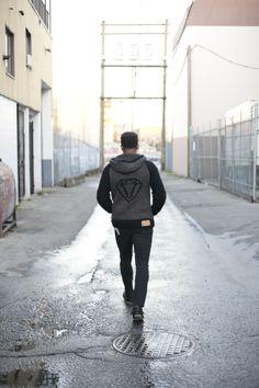 Ken Diamond collaboration sweater Collaboration, Custom Design, Winter Jackets, Diamond, Sweaters, Bags, Fashion, Winter Coats, Handbags