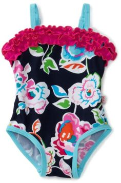 Floatimini Baby-Girls Infant English Garden Swimwear, « Clothing Impulse
