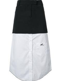 Shop Wanda Nylon 'Theo' skirt.
