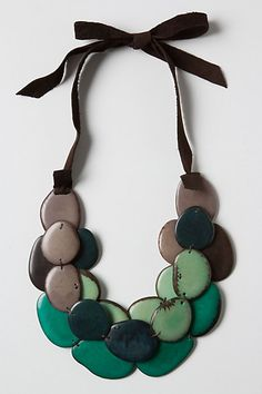 Sea Shingle Necklace via Anthropologie