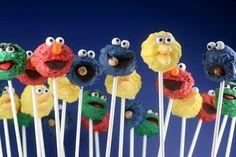 Sesame Street Cake Pops: the dessert equivalent of a sonic boom