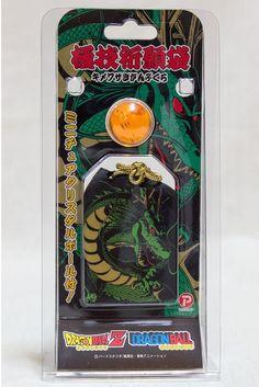Dragon Ball Z Omamori Shenron Japanese Type Amulet + 7 Star Ball JAPAN ANIME